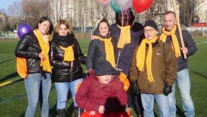 Paris Telethon Yürüyüşüne Türk aile 11 yıldır katılıyor