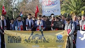 Üniversiteli gençlerden Kudüs tepkisi