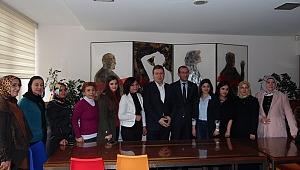 Ak Parti İl Teşkilatından Dgc'yi Ziyaret
