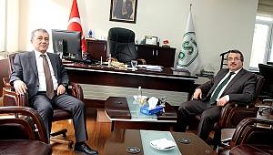 Ayhan Demiryürek DSİ 2. Bölge'yi ziyaret etti.