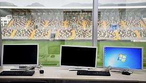 Bornova Stadı ikinci yarıya hazır