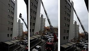 İzmir Adliyesinde yangın paniği