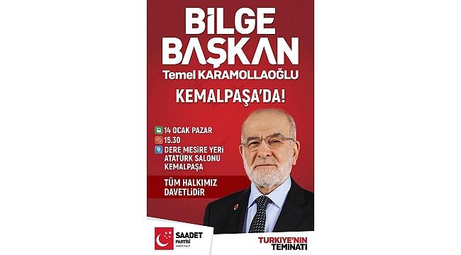 Karamollaoğlu İzmir'e geliyor