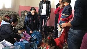 Koç Özel Lisesi Öğrencileri'nden, Suriyeli Mülteci Ailelere Destek