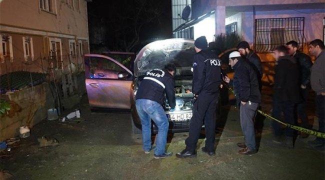 Otomobile pompalı tüfekle ateş ettiler