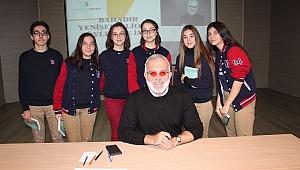 Payitaht Dizisinin Tahsin Paşa'sı Bornova Koleji Öğrencileriyle Buluştu