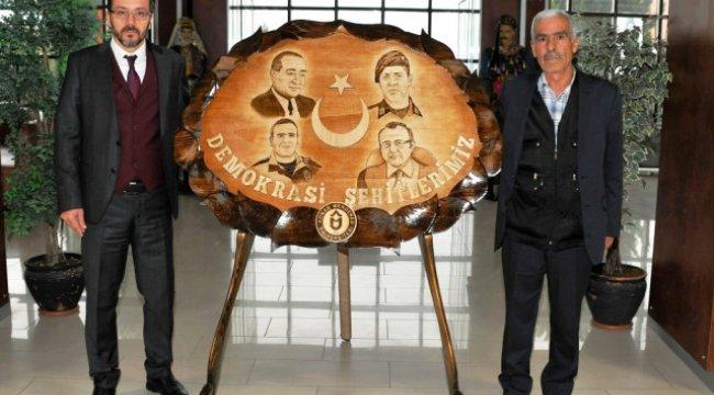 Rektör Bircan, Şehit Polis Fethi Sekin'in Babasını Ağırladı