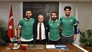 Salihli Belediyespor'dan 3 Transfer