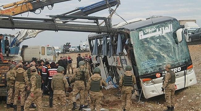 Silopi'de otobüs faciası: 9 ölü
