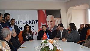AK Parti İzmir Milletvekili Atilla Kaya 'dan Balçova turu