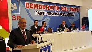 DSP Genel Başkanı Aksakal'dan Önemli Açıklamalar