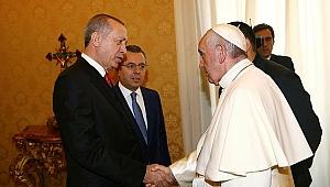 Erdoğan-Papa görüşmesiyle ilgili açıklama.