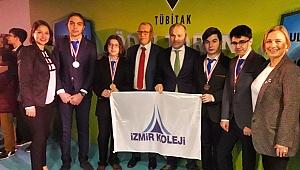 İzmir Koleji 4 madalya ile döndü
