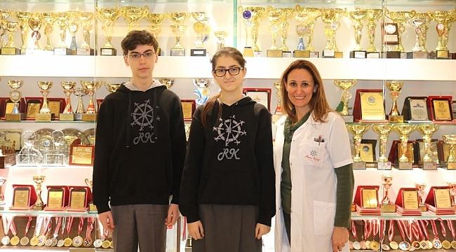 Rota KolejininTübitak Şampiyonu Projesesi INTEL ISEF Daveti Aldı