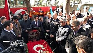 Şehit ülkücü Fırat Çakıroğlu mezarı başında anıldı