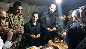 Uşak Belediyesi Mehmetçik İçin Afrin'de Kurban Kesti