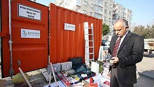 Bayraklı Belediyesi 'Deprem Konteyneri' Sayısını 7'ye Çıkardı