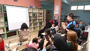 Bayraklı'da 'Kadına Şiddete Hayır' Semineri