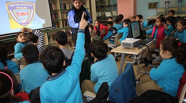 Bayraklılı Çocuklara 'Trafik' Eğitimi