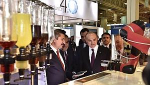 Bilim Sanayi ve Teknoloji Bakanı Dr. Faruk Özlü WIN EURASIA'yı ziyaret etti