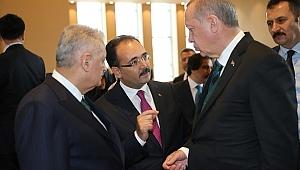 Cumhurbaşkanı Erdoğan'a Projelerini Anlattı
