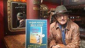 Yaşar Aksoy'dan tanıtım ve imza günü