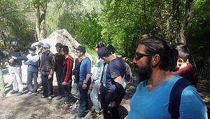 Anadolu Kanyonları Belgesel Ekibi Kıbrıs Kanyonundaydı.