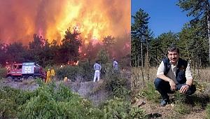 Manisa'da 30 Yılda 10 Bin Hektar Yandı , 10 Katı Alan Ağaçlandırıldı