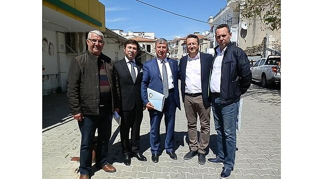 Menemen Ticaret Odası Başkanı Seçim Çalışmalarına Foça'dan Başladı