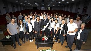 Özel Havajet Öğrencilerine Üniversitede Mesleki Konferans