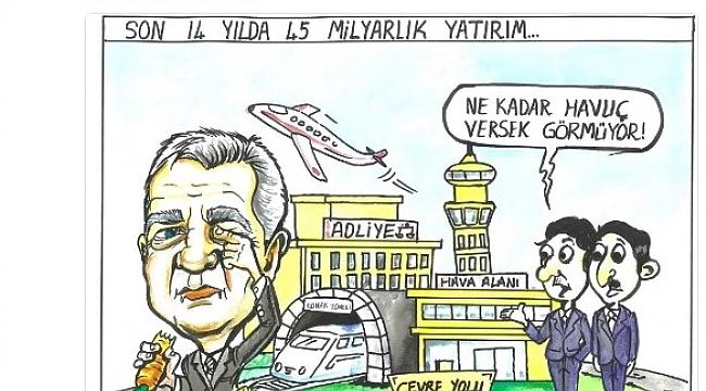 Şengül'den,Kocaoğlu'na karikatürlü gönderme