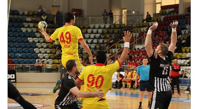 Türkiye Kupası: Göztepe 21-25 Beşiktaş Mogaz