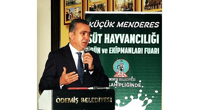 Türkiye'nin Tek Süt Hayvancılığı İhtisas Fuarı Ödemiş'de Yapılacak