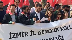 Ak Partili gençlerden protesto
