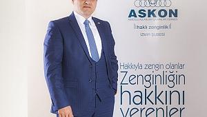 Askon İzmir: '' Reel Ekonomiyi Perdelemeye Çalışanlara Prim Verilmemeli ''