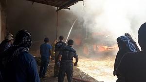 Foça Gerenköy'de Yangın