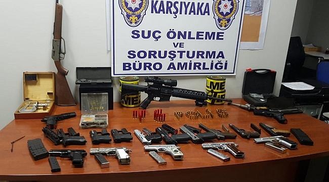 Kaçak silah imalathanesine operasyon