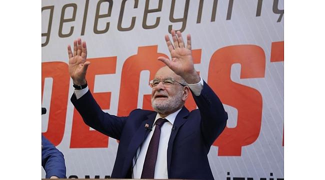 Karamollaoğlu İzmir'den e-miting ile halka seslendi