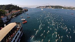 Kıtalararası Yüzme Yarışı Heyecanı İzmir'de