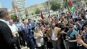 Kudüs kararına İzmir'den tepki
