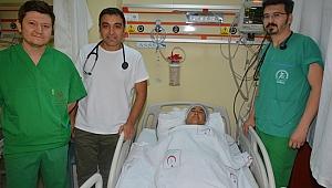 Aort Kapağındaki Yırtık Ameliyatsız Tedavi Edildi…