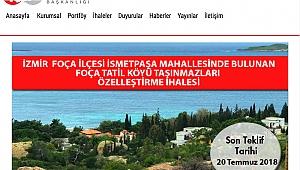 İşler: Foça Tatil Köyü dış turizme hizmet etmeli