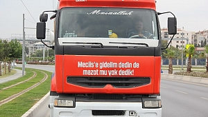 İzmir'de sıra dışı seçim aracı