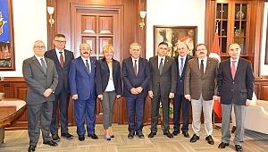 İzmir Ticaret Borsası'ndan ortak akıl ziyareti
