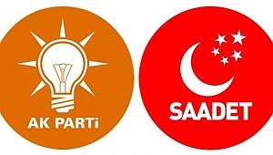 Saadet Partisi'nden istifa edip AK Parti'ye katıldılar