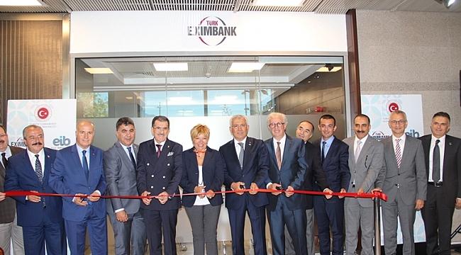 Türk Eximbank, Ege İhracatçı Birlikleri İrtibat Ofisi açıldı