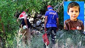 Hatay'da kaybolan küçük Ufuk'un cansız bedeni bulundu
