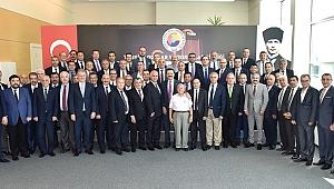 Başkan Delikanlı, Ankara'daydı