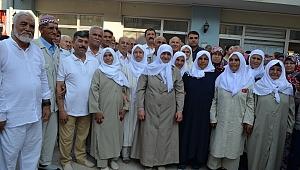 Demirci'li Hacı Adayları Kutsal Topraklara Uğurlandı