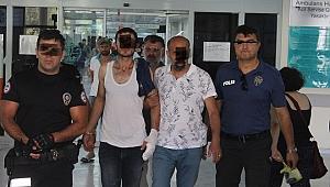 İzmir'de kovalamaca sonucu yakalanan 3 kişi tutuklandı